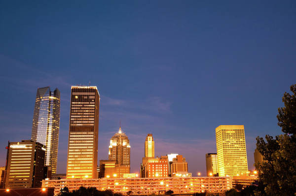 Photograph - Oklahoma City Skyline - Downtown Okc by Gregory Ballos