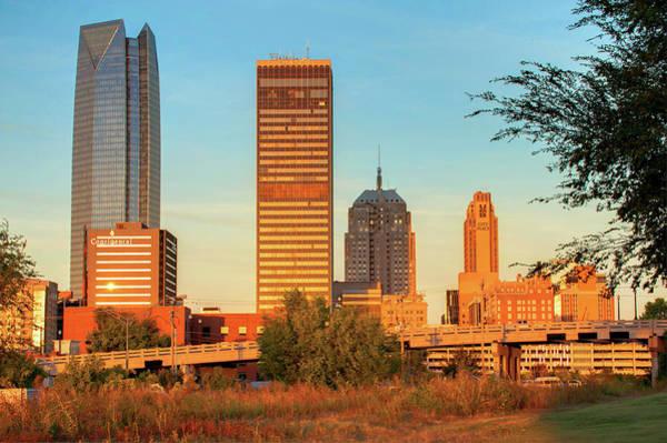 Photograph - Oklahoma City Skyline Morning by Gregory Ballos