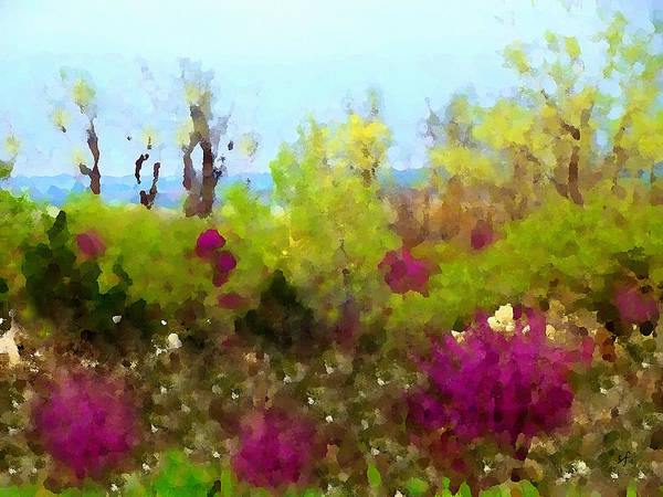Digital Art - Oklahoma Spring Colors by Shelli Fitzpatrick