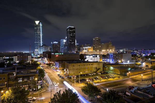 Okc Photograph - Oklahoma City Nights II by Ricky Barnard