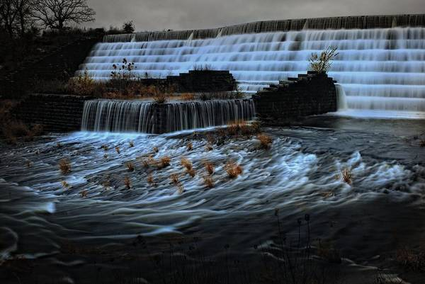 Spillway Photograph - Okmulgee Spillway3 by Tim Hayes