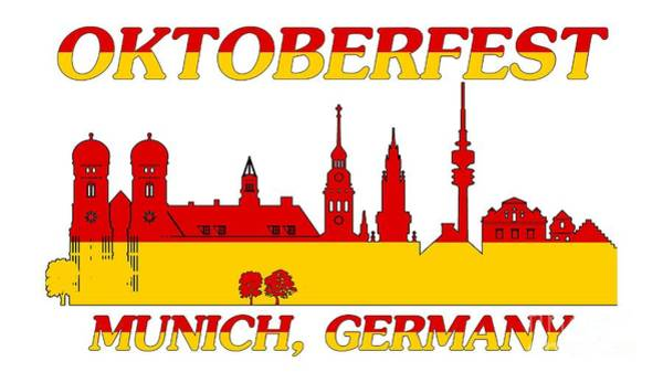 Digital Art - Oktoberfest Munich Germany by David Millenheft