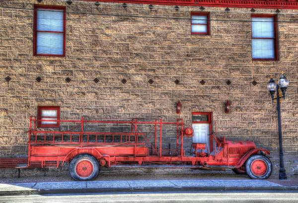 Firetruck Photograph - Ol' Red Number 3 by Donna Kennedy