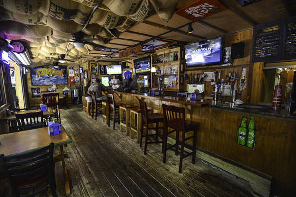 Photograph - Old 27 Bar In Fairhope Alabama by Michael Thomas