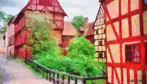 Painting - Old Aarhus by Jeffrey Kolker