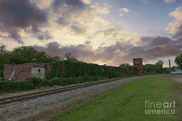 Photograph - Old Abney Cotton Mill - Anderson Sc by Dale Powell