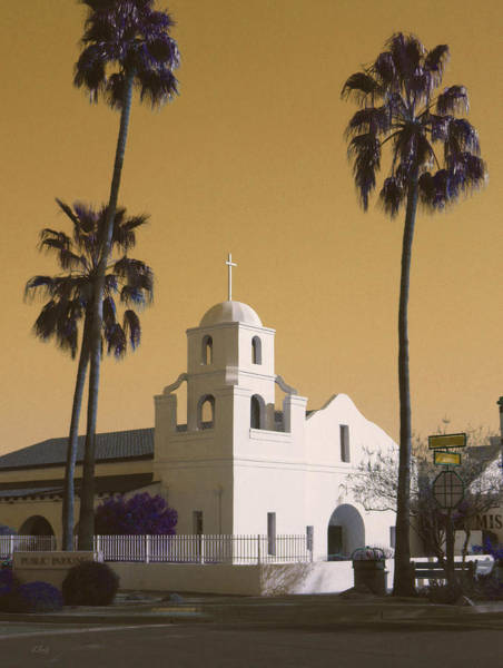 Perpetual Photograph - Old Adobe Mission Poster by Gordon Beck