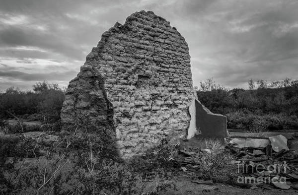 Mud House Photograph - Old Adobe  by Robert Bales