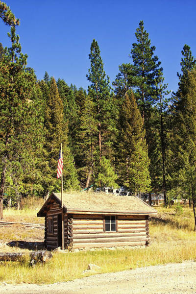Photograph - Old Alta Ranger Station In The Bitterroot National Forest, Montana by Tatiana Travelways