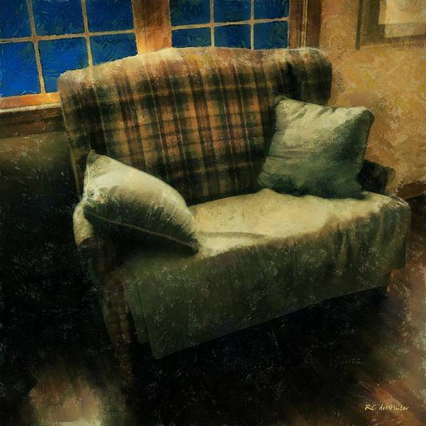 Painting - Old And Cozy by RC DeWinter