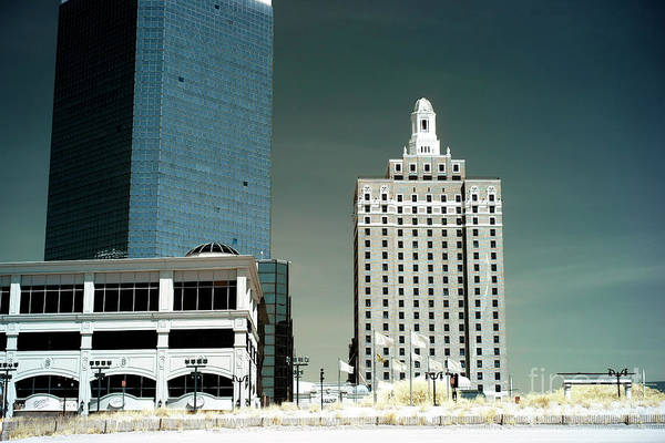 Photograph - Old And New In Atlantic City by John Rizzuto