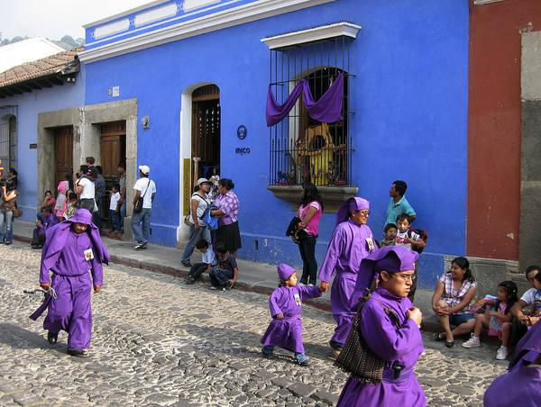 Photograph - Old Antigua Street Scene II by Kurt Van Wagner