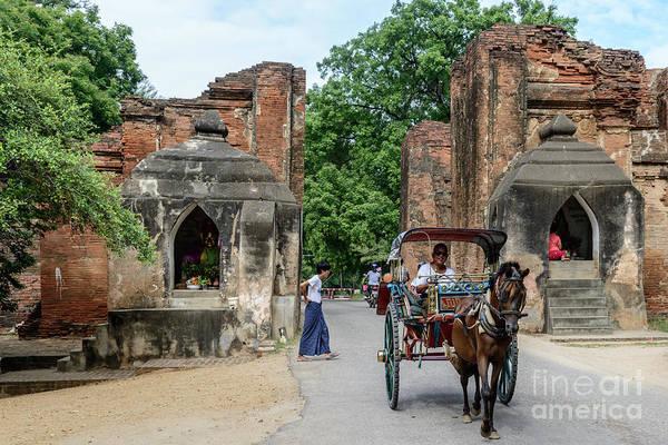 Old Bagan Art Print