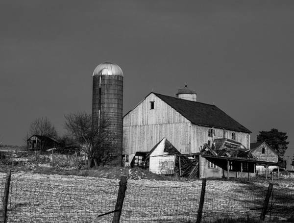Photograph - Old Barn 1 by Paul Ross