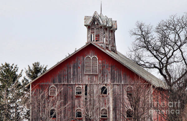 Wall Art - Photograph - Old Barn  6557 by Jack Schultz