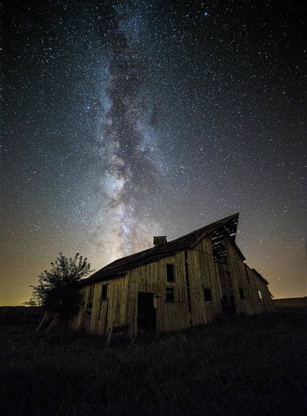 Photograph - Old Barn by Aaron J Groen