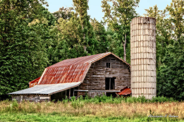 Photograph - Old Barn by Christopher Holmes