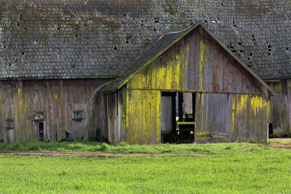 Photograph - Old Barn Detail 1 by David Lunde