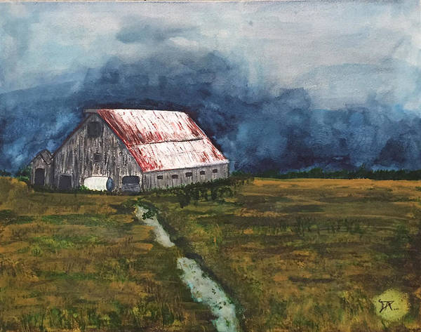 Painting - Old Barn by Donald Paczynski