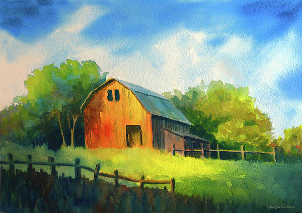 Painting - Old Barn by Douglas Castleman