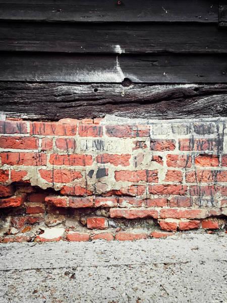 Wall Art - Photograph - Old Barn Exterior by Tom Gowanlock