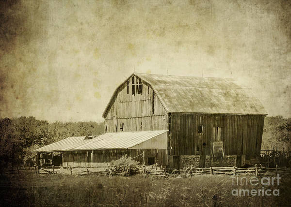 Photograph - Old Barn by Hal Halli