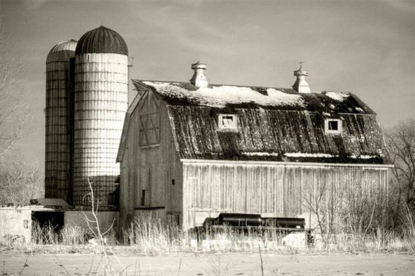 Old Barn Huntley Illinois Art Print