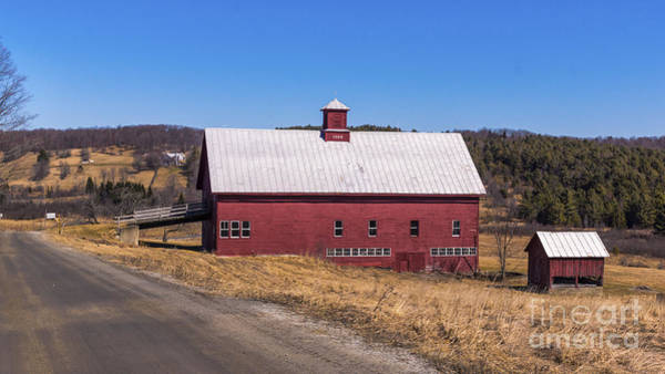 Photograph - Old Barn In Montpelier by Scenic Vermont Photography