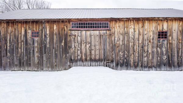 Wall Art - Photograph - Old Barn Musterfield Farm by Edward Fielding