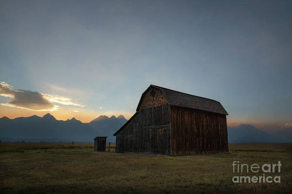 Wall Art - Photograph - Old Barn On Mormon Row  by Michael Ver Sprill