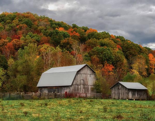 Wall Art - Photograph - Old Barns Of Beauty In Ohio  by Richard Kopchock