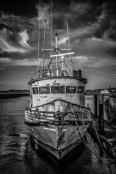 Photograph - Old Battered Fishing Boat by Jason Brooks