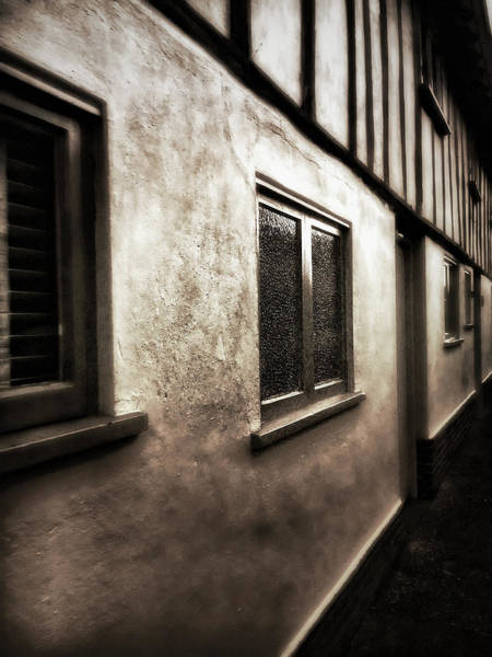 Wall Art - Photograph - Old Beam Houses by Tom Gowanlock