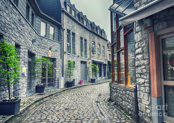 Photograph - old Belgium town Durbuy by Ariadna De Raadt