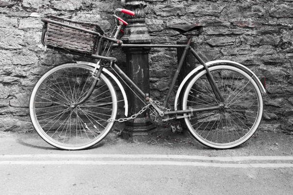 Photograph - Old Bicycle by Helen Northcott