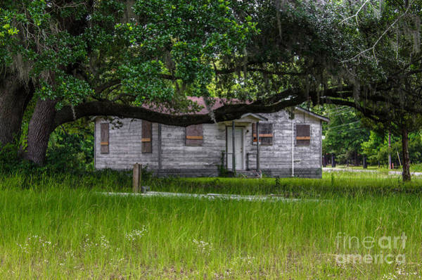 Photograph - Old Boarded Up Homestead On Highway 41 by Dale Powell