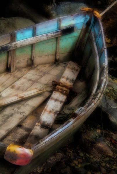 Stonington Photograph - Old Boat 2 Stonington Maine by David Smith