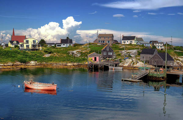 Photograph - Old Boat At Peggy's Cove by Rodney Campbell