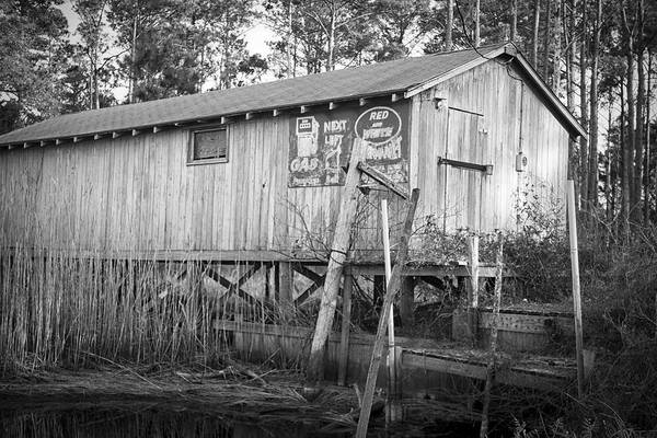 Photograph - Old Boat House by Bob Decker