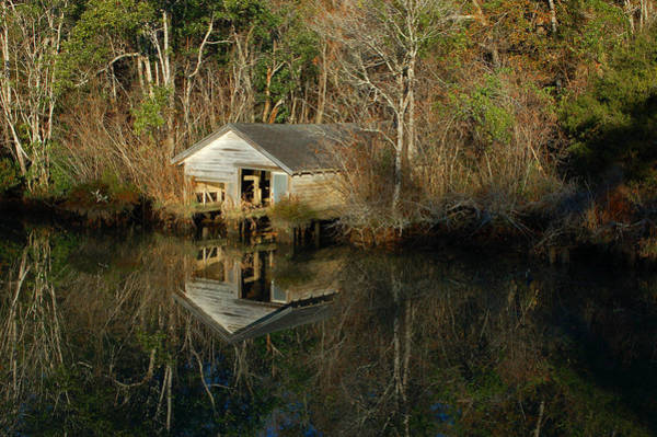 Digital Art - Old Boat House by Michael Thomas