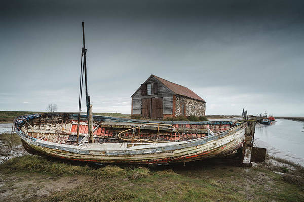 Photograph - Old Boat by James Billings