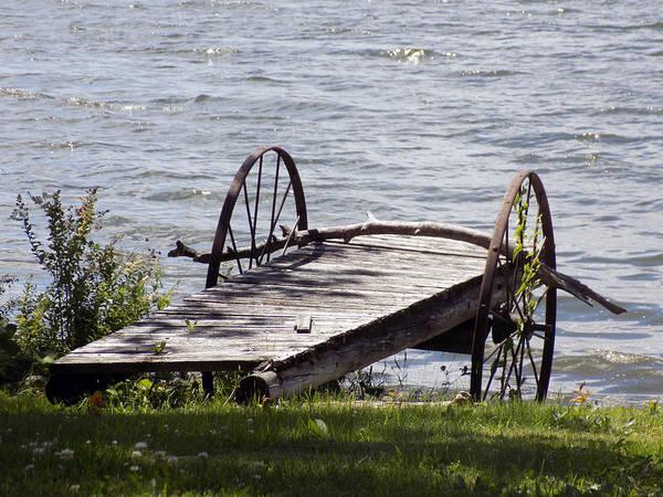 Madawaska Lake Photograph - Old Boat Launch by William Tasker