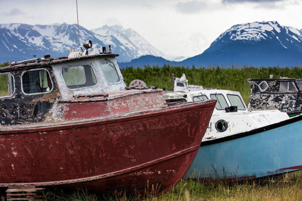 Photograph - Old Boats by Gloria Anderson