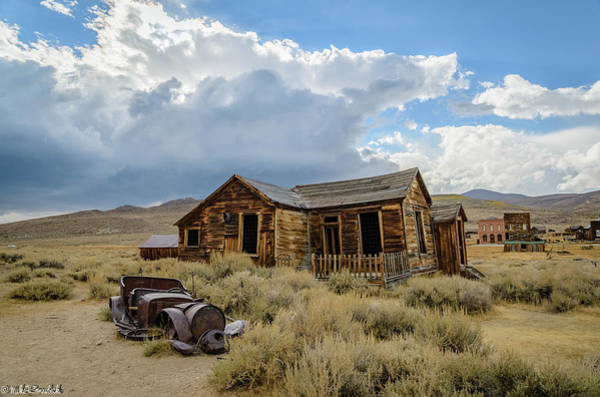 Bodie Ghost Town Wall Art - Photograph - Old Bodie House by Mike Ronnebeck