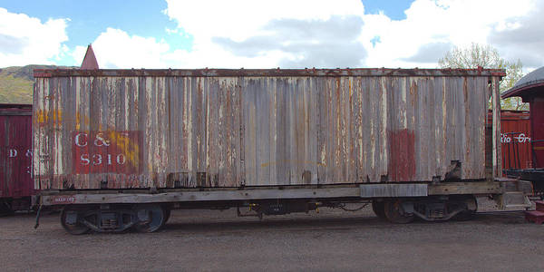 Photograph - Old Boxcar by Gordon Elwell
