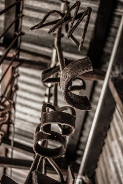 Branding Iron Photograph - Old Branding Irons by Teresa Wilson
