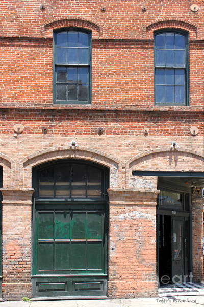 Photograph - Old Brick Building by Todd Blanchard