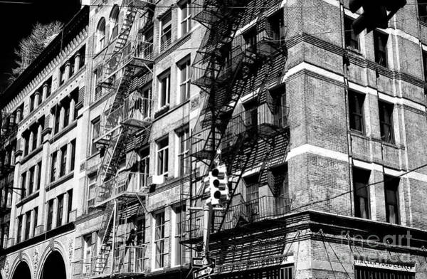 Photograph - Old Brick In New York City by John Rizzuto