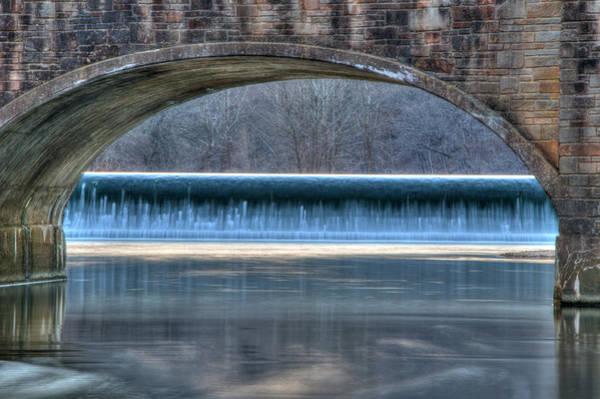 Photograph - Old Bridge At Bennett Spring by Steve Stuller