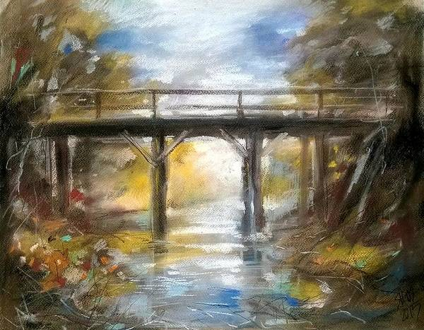 Painting - Old Bridge by Lorand Sipos